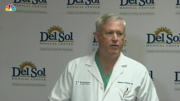 [NATL] Trauma Medical Director Gives Update on 11 Patients Treated in El Paso