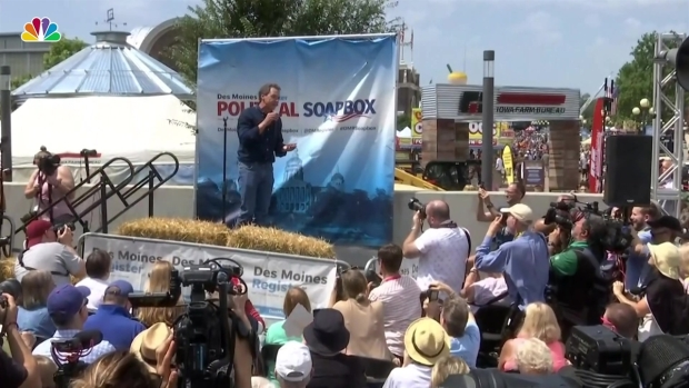 [NATL] Democratic Candidates Flock to Iowa State Fair