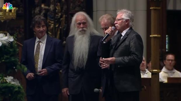 [NATL] Oak Ridge Boys Sing 'Amazing Grace' at George H.W. Bush Funeral