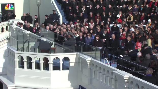 [NATL] Aretha Franklin Sings at Barack Obama's 2009 Inauguration