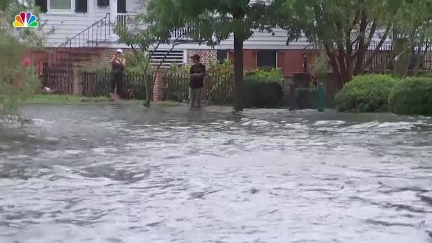 [NATL] Flooding in Coastal Areas as Florence Closes In