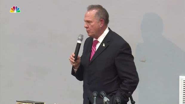 [NATL] Senate Candidate Roy Moore Speaks at Baptist Church Amid Ongoing Scandal