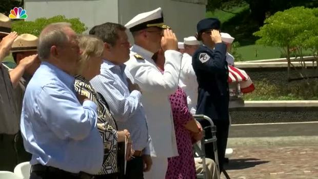 [NATL] Sailor Killed at Pearl Harbor ID'd, Laid to Rest