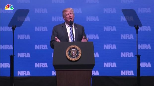 "[NATL] Trump at NRA Thanks Kanye, Says Mueller Probe a ""Witch Hunt"""