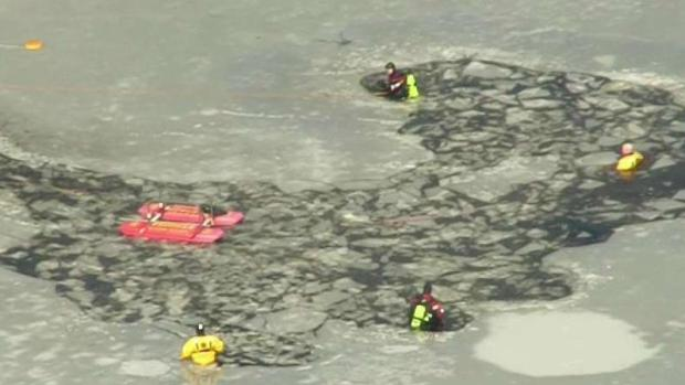 [NECN] Dive Teams Searching Pond After Missing Child Report