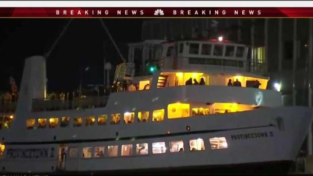 [NECN] Divers Find body of Man Who Jumped Overboard