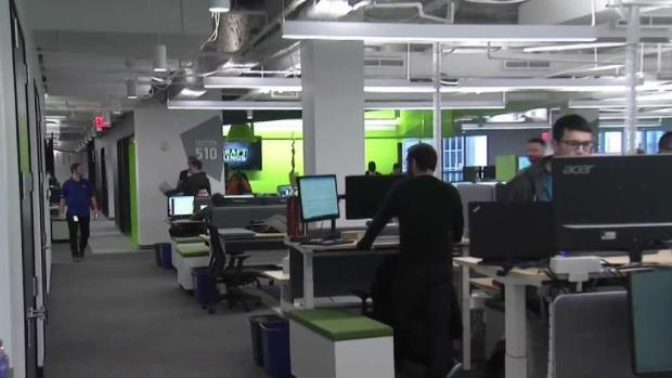 [NECN] DraftKings Unveil New Boston Headquarters