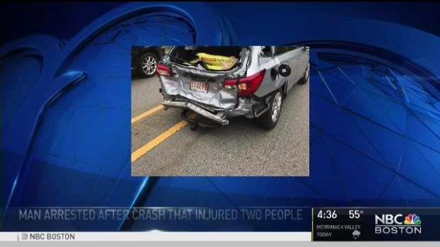 [NECN] Drunk Driver Who Caused Crash That Injured 4 Had Been Arrested Earlier in the Day