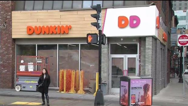 [NECN] Dunkin' Donuts Smaller Menu Starts Monday