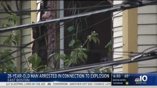 [NECN] East Boston Explosion Not Related to Terrorism: Police