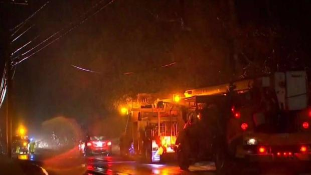 [NECN] Easton Residents Take Shelter Amid Mass Power Outages