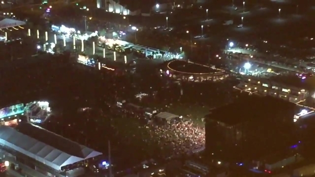 Video Shows People Flee Mass Shooting on Vegas Strip
