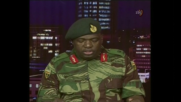 [NATL] Zimbabwe Military: This Is Not a Military Takeover of Government