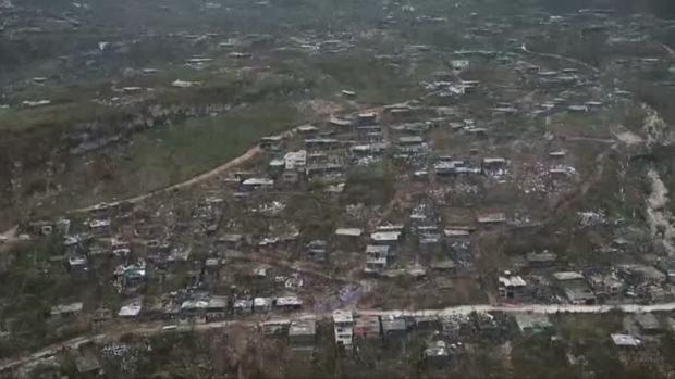 Aerial Images Show Hurricane Matthew's Damage