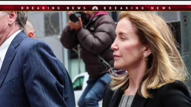 [NECN] Felicity Huffman Pleads Guilty in Court