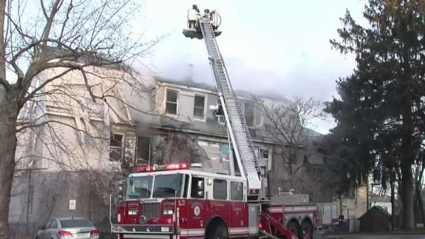[NECN] Firefighter Killed in Worcester Fire