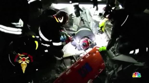 [NATL] Firefighters Rescue 7 Month Old Baby from Earthquake Rubble