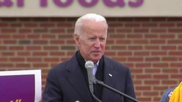 Former VP Joe Biden Throws Support Behind Striking Stop & Shop Workers