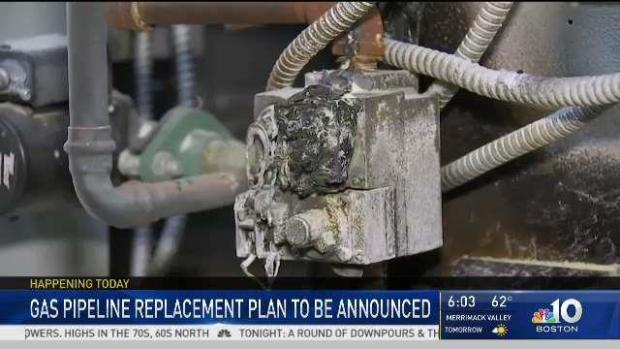 [NECN] Gas Pipeline Replacement Plan to Be Announced