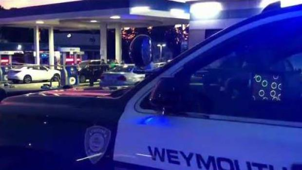 [NECN] Gas Station Clerk Hit by SUV in Weymouth