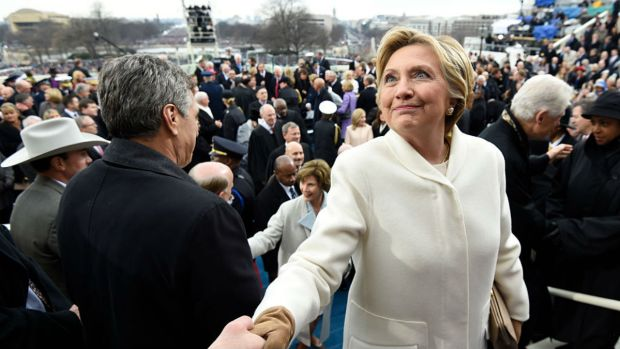 Why Hillary Clinton's Outfit on Inauguration Day Made a Bold Statement