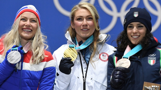 Feb. 15 Olympics Photos: Shiffrin Wins Gold