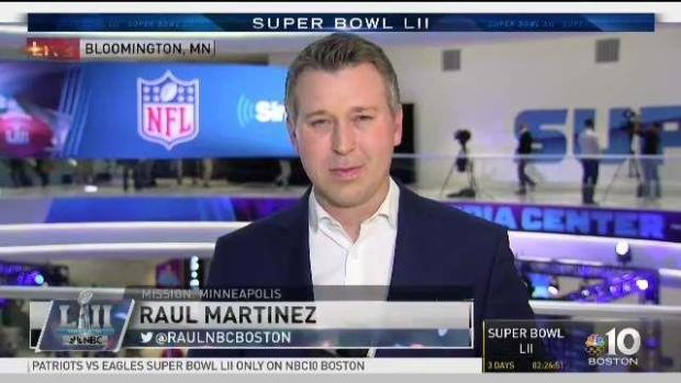 [NECN] Rob Gronkowski Clears Concussion Protocol