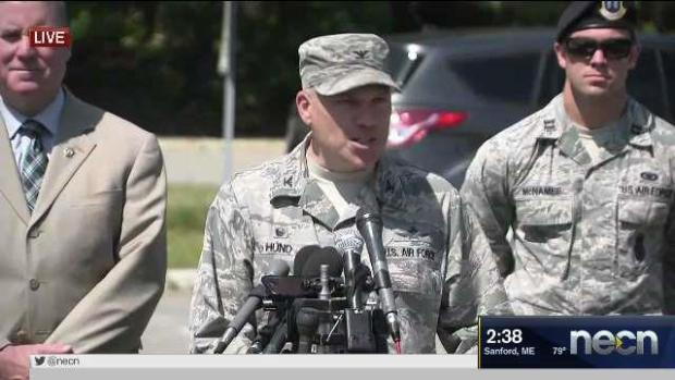[NECN] Hanscom Update: 'Everyone Here is Safe and Sound'