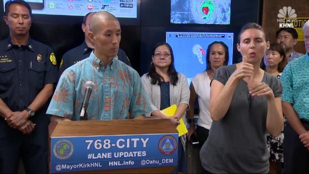 [NATL] Hawaii Braces for Hurricane Lane