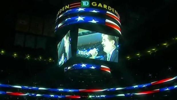 [NECN] Iconic Boston Bruins National Anthem Singer  Retires