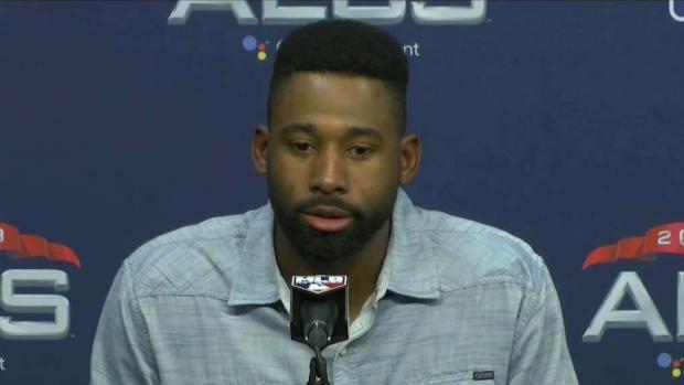 [NECN] JBJ Speaks After Sox Beat Astros in Game 3