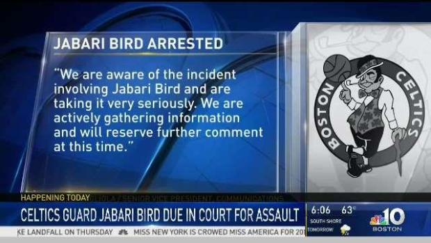 [NECN] Jabari Bird Faces Brighton Court for Domestic Assault