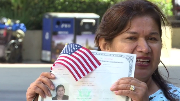 [NATL] Mother of 3, Who Cannot Read or Write, Earns US Citizenship