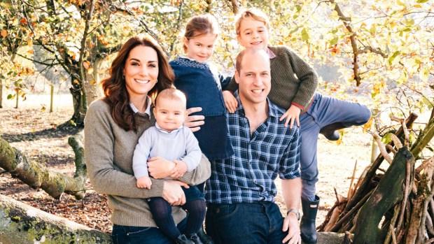 Royal Family Photos: Royal Family Christmas Card
