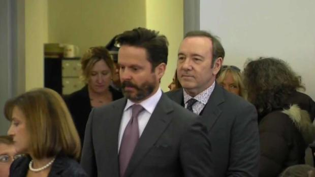 [NECN] Kevin Spacey's Attorney Seeks Material Evidence