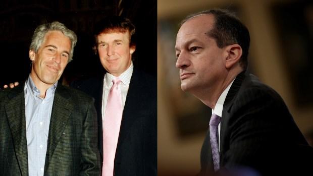 [NATL] Trump Says He Feels Badly for Labor Secretary Acosta