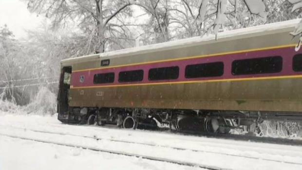 [NECN] Lowell Commuter Rail Line Train Derails in Wilmington