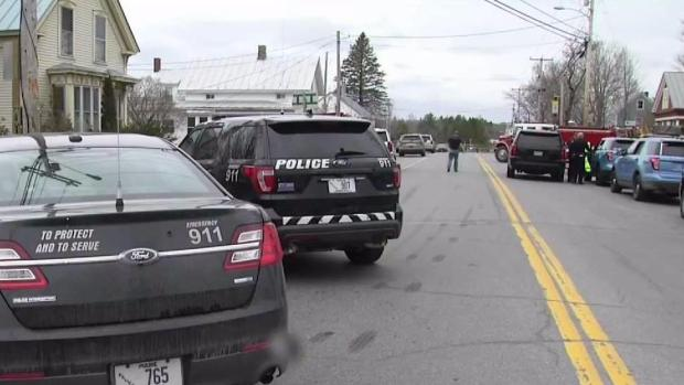 [NECN] Manhunt Underway for Killer of Maine Sheriff's Deputy