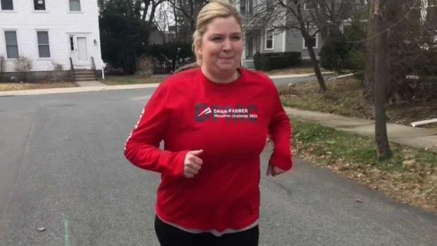 [NECN] Marathon Runner and Cancer Survivor Raises Thousands