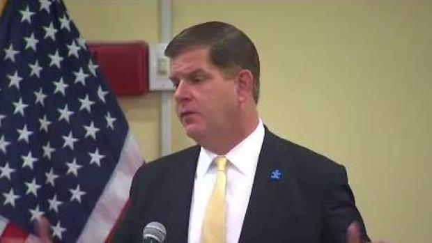 [NECN] Walsh Announcing New Energy Plan as Mayors Meet