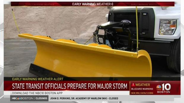 [NECN] Mass. Officials Prepare for Winter Storm