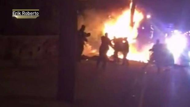 [NY] Jersey City Mayor Wants Cops Seen in Video Kicking Burning Man Fired