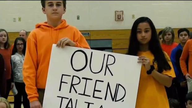 [NECN] Middle School Raises Money for Student's Rare Disease