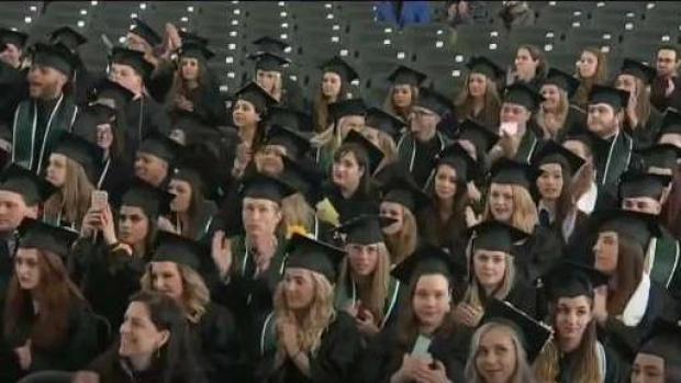 [NECN] Mount Ida College Holds Final Graduation