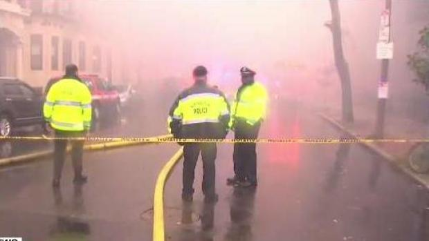 [NECN] Multi-Alarm Fire Fills Boston Streets With Smoke