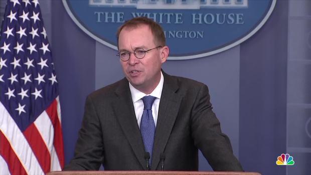 [NATL] Budget Director Blames 'Schumer Shutdown' on Immigration Reform, Says DACA is Not Urgent