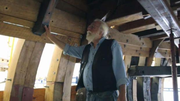 [HAR] Mystic Shipbuilder Leads Renovation of Mayflower II