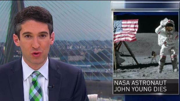 [NECN] NASA Astronaut John Young Dead
