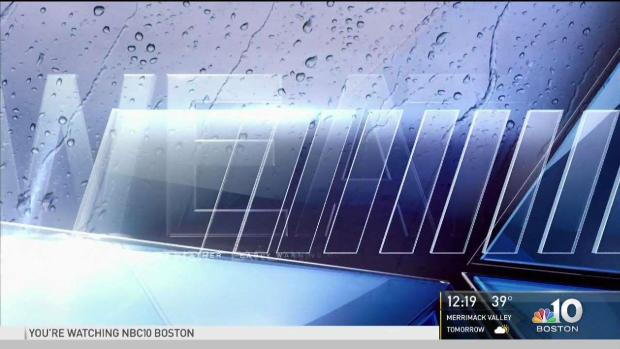 [NECN] Showers Today with a Mix of Snow