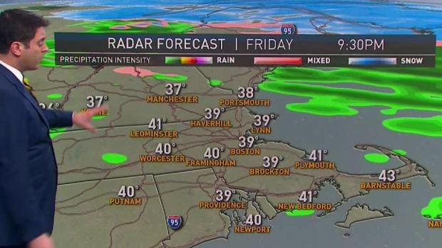 [NECN] Forecast: Sun to Clouds, Showers Later